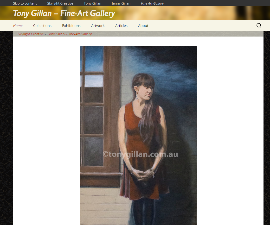 Tony Gillan - Fine-Art Gallery